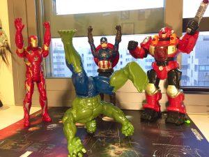Avenger's party