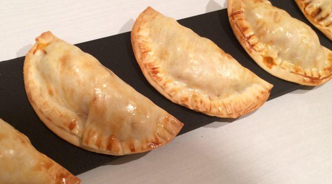 Empanadillas de pavo al horno