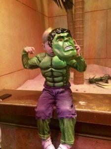 Hulk en DisneyLand