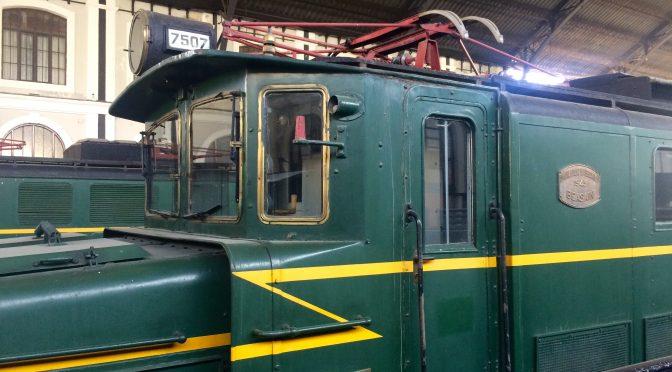 Visita al Museo del Ferrocarril de Madrid